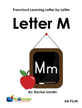 Preschool Learning Letter By Letter:  Letter M