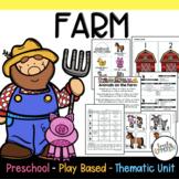 Preschool Lesson Plans- Farm