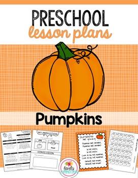 Preschool Lesson Plans- Pumpkins