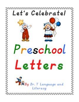 Preschool Letters D'Nealian