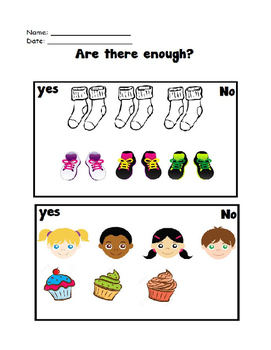 Preschool Math - Are there enough
