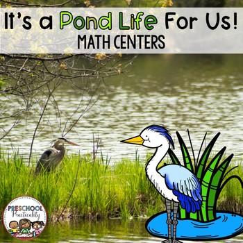 Preschool Math Centers {Pond Life}