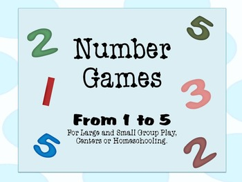 Number Games From 1 to 5