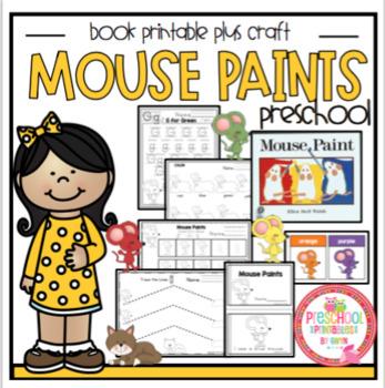 Preschool Packet Mouse Paint's