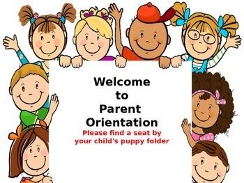 Preschool Parent Orientation Open House Presentation  Prec