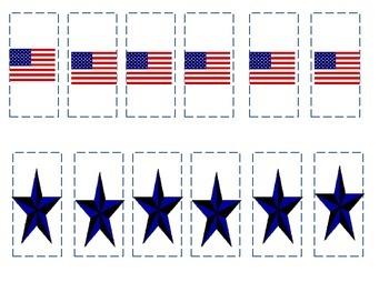 Preschool Patriotic Patterning