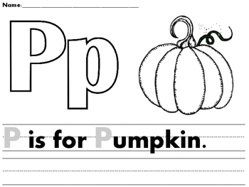 Preschool Pumpkin Pack