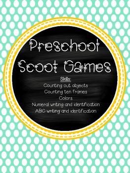 Preschool Scoot Games