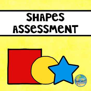 Preschool  File Folder Assessment Kit--Shapes