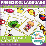 Vocabulary Activities for Preschool