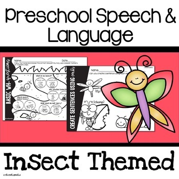 Preschool Speech and Language Bugs