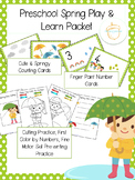 Preschool Spring Play and Learn Packet