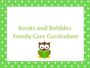 Preschool educational package. Great for home daycare. Hom