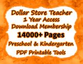 Preschool to Kindergarten Tools ~ Cyber Special ~ Over 90%