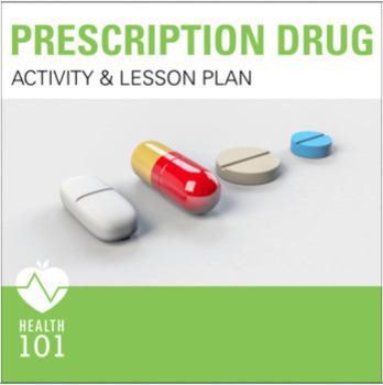 Prescription Drug Activity and Lesson Plan