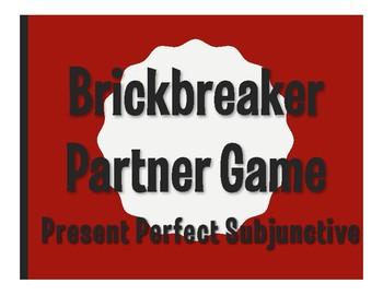 Spanish Present Perfect Subjunctive Brickbreaker Partner Game