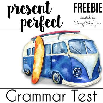 Present Perfect Practice - Free Test