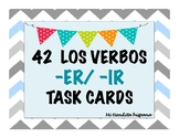 Present Tense -ER/ -IR Task Cards