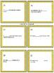 Present Tense Task Cards Regular -AR Verbs