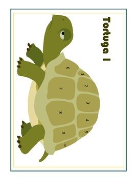 Present Tense Verb Conjugation Game:  Tortuga!