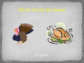 Presentacion Dia de Accion de Gracias (Thanksgiving PP)