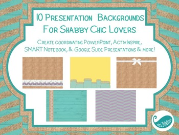 Presentation Backgrounds for Shabby Chic Lovers