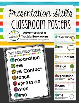 Presentation Skills Posters