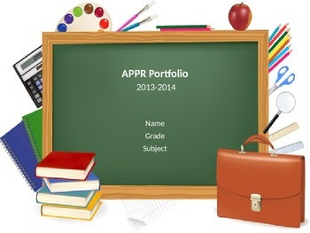 Digital APPR Portfolio Presentation Template for Danielson