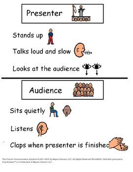 Presentation Visual and Worksheet
