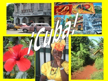 Spanish Teaching Resources. Presentation about Cuba using