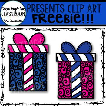Presents Clip Art Freebie!