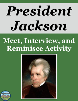 President Andrew Jackson Activity