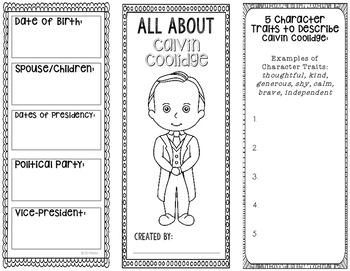 President Calvin Coolidge - Biography Research Project - I