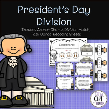 President Day Division 2 digit by 1 digit