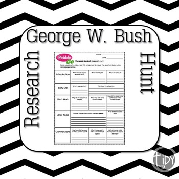 President George W. Bush Research Hunt