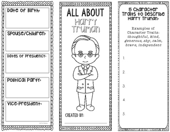President Harry S. Truman - Biography Research Project - I