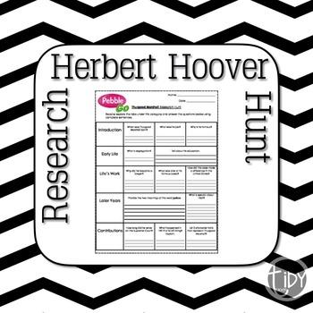 President Herbert Hoover Research Hunt