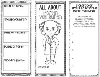 President Martin Van Buren - Biography Research Project -