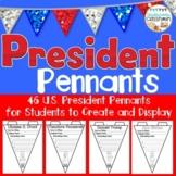 President Pennant Kit- All U.S. Presidents