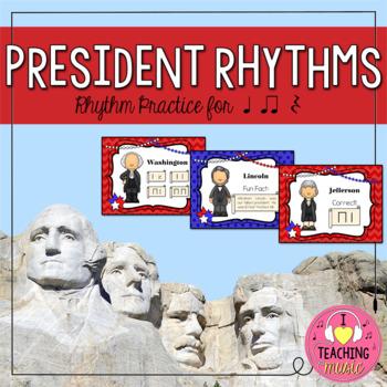 President Rhythms - Rhythm Practice for Quarter Notes, Eig