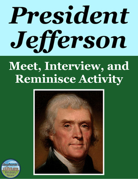 President Thomas Jefferson Activity
