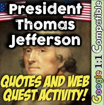 President Thomas Jefferson: What Were His Real Beliefs? Gr