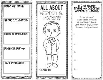 President Warren G. Harding - Biography Research Project -