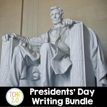 Presidents' Day Writing Bundle February Informative, Narra