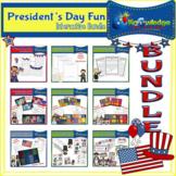 President's Day Fun Interactive BUNDLE