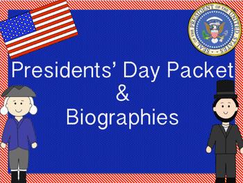 Presidents' Day RI 2.1 RI 2.2 RI 2.3