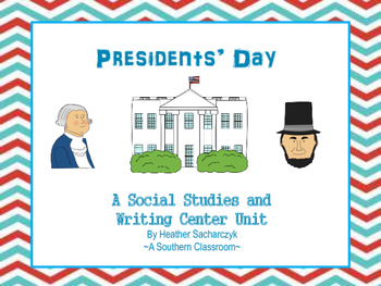 President's Day Social Studies and Writing Activity
