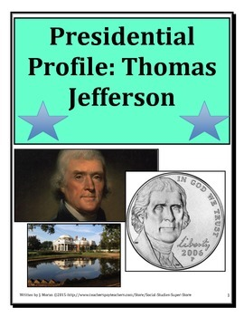 Presidential Profile: Thomas Jefferson