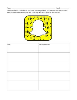 Presidental Snapchat