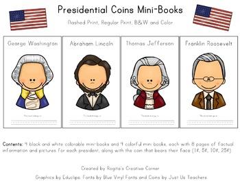 Presidential Coin Mini-Books
